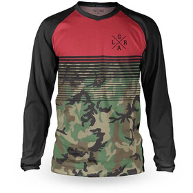 Loose Riders Basic LS Jersey Men, camo red